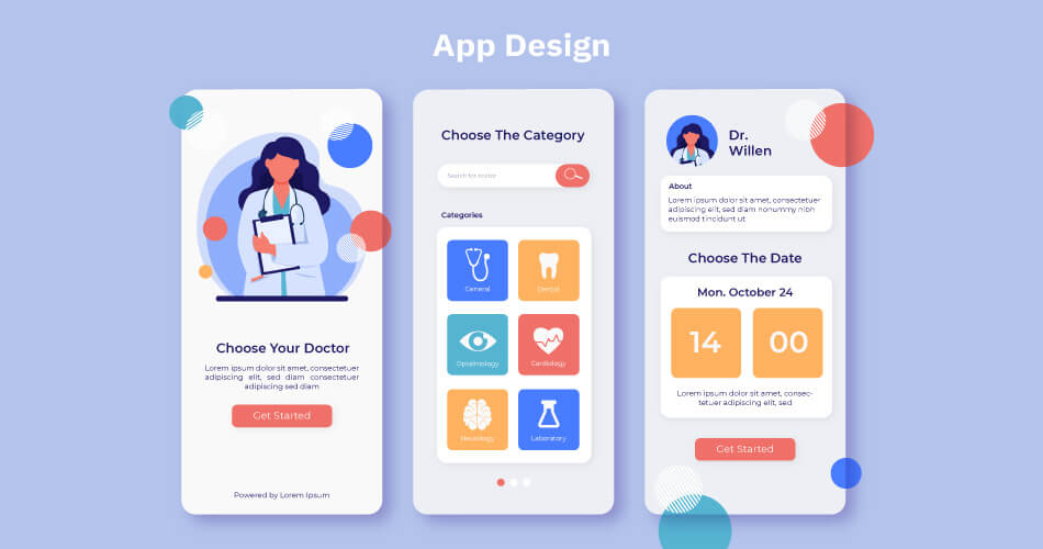 practo-App-Design