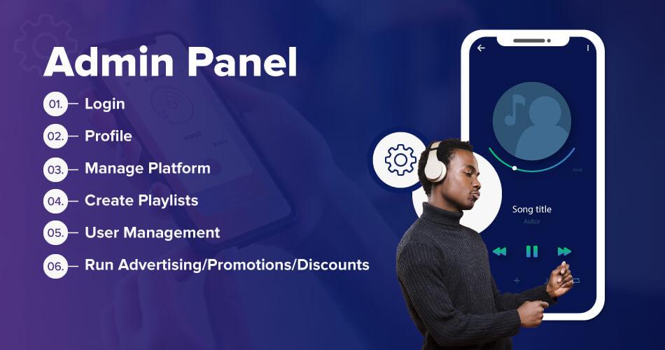 spotify-Admin-Panel
