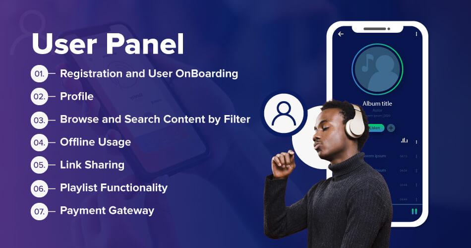 spotify-User-Panel