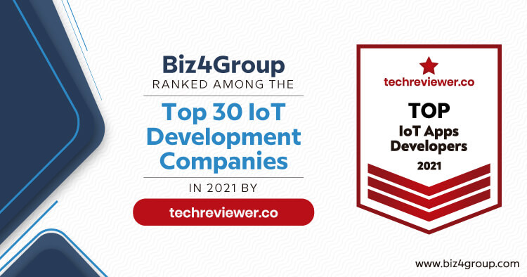 biz4group-ranked-among-the-top-30-iot-development-companies-in-2021-by-techreviewer